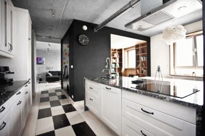 Варианты отделки рабочей поверхности кухни