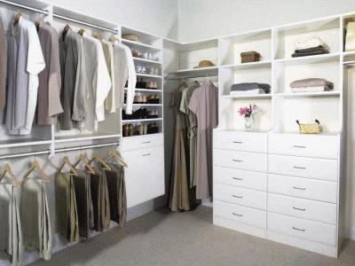 Зоны хранения в доме: виды и размещение
