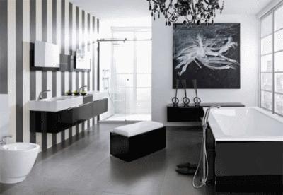 Дизайн мебели и ванной комнаты