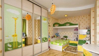 Какую обстановку сделать в детской комнате ребенка