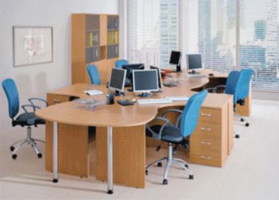Современный эргономичный офисный стол