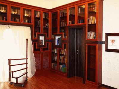 Домашняя библиотека или место уединения