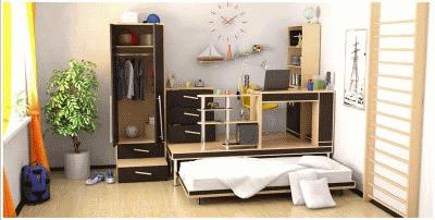 Комфортная и красивая мебель для детей