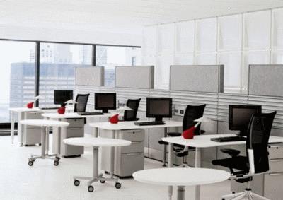 Мебель для офиса – дополнительные опции, стоимость материалы и степень эргономики