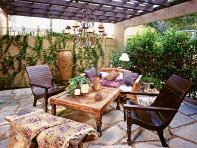 Необходимая садовая мебель