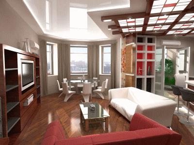 Новые идеи для оформления гостиной