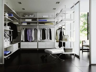 Обустройство гардеробной в квартире или частном доме