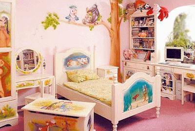 Подбираем мебель для детской комнаты