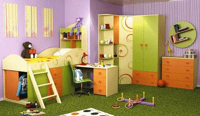 Прогрессивная детская мебель