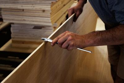 Изготовление из мебельных щитов своими руками