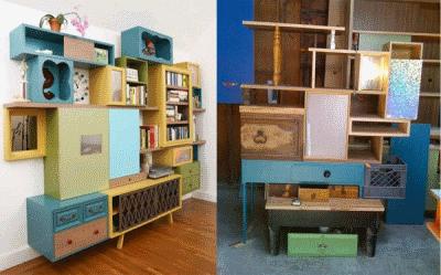 Обновление и реставрирование старой мебели