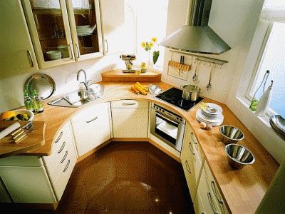 Несколько советов по обустройству маленькой кухни