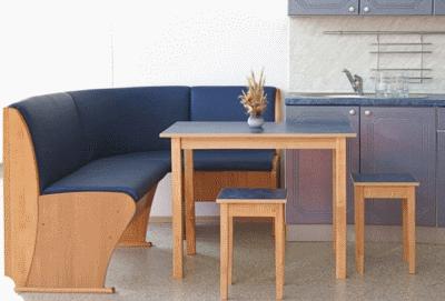 Маленькой кухне – практичную мебель