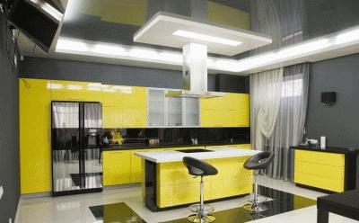 Немного о удобной расстановке кухонной мебели