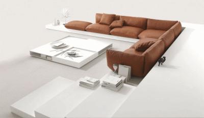 Подбираем диван под помещение