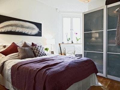 Как придать уюта маленькой спальне