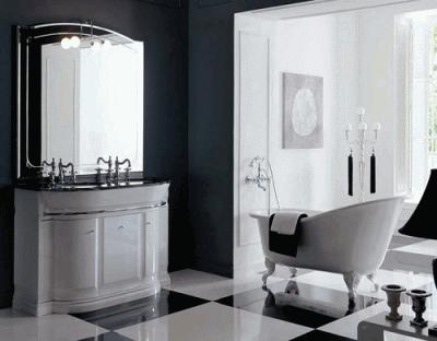 Устанавливаем мебель в ванную комнату