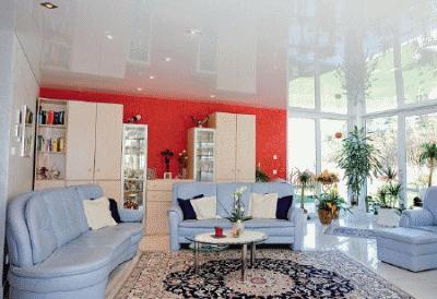 Можно ли установить натяжной потолок в квартире?