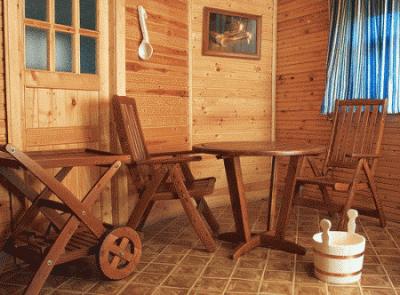 Выбираем мебель для сауны и бани