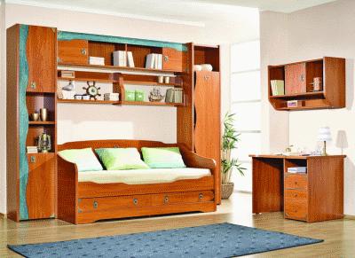 Выбираем надежную мебель для детской комнаты