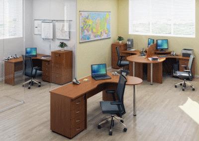 Выбор офисной мебели класса эконом