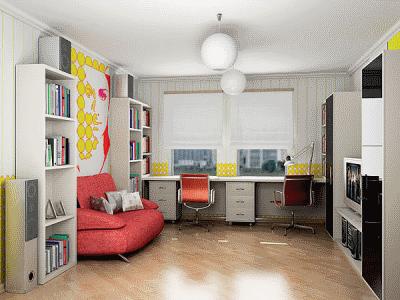 Планируем дизайн интерьера для современных школьников