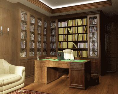 Дизайн кабинета: респектабельность и стиль для комфортной работы дома
