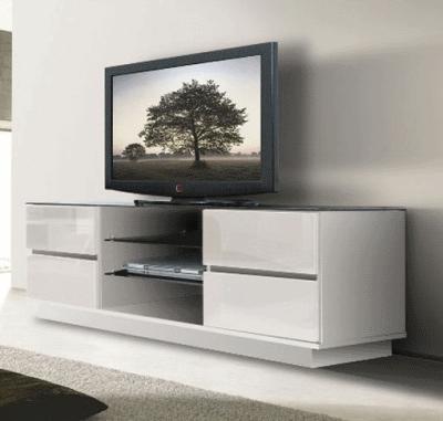Функциональная тумбочка под телевизор