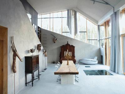 Гостиная загородного дома: выбираем интерьер