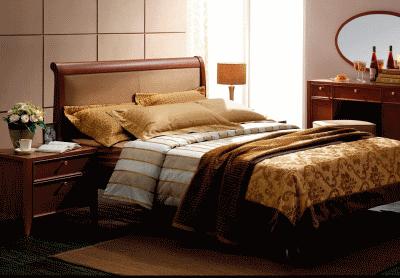 Кровать - это все, что нужно для спальни