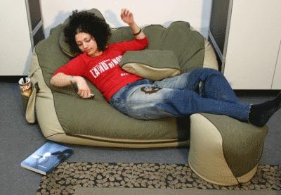 Стильная необычная мягкая мебель