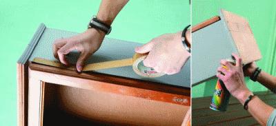 Легко обновляем устаревшую мебель своими силами