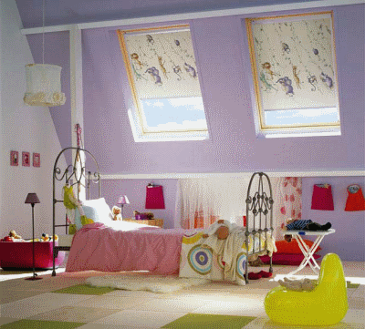 Подбираем шторы для небольшой детской комнаты