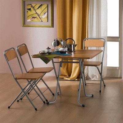 Современная складная мебель для небольших квартир