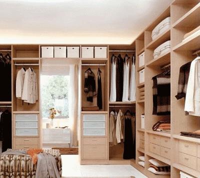 Создаем идеальную гардеробную комнату