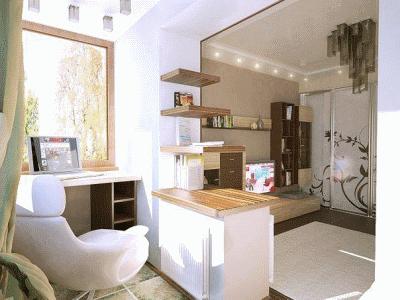 Создаем комнату из лоджии или балкончика
