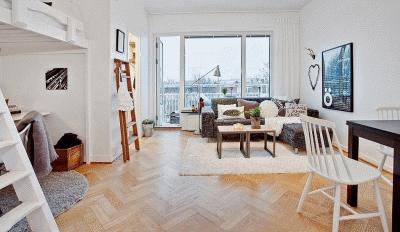 Стильно обставляем небольшую квартирку с минимальными затратами