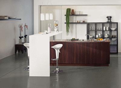 Идеи для декорирования барной стойки в интерьере кухни