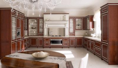 Уютные деревянные кухни для дома