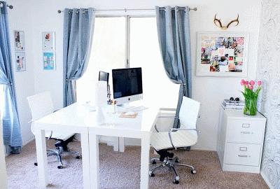 Создаем красивый и комфортный домашний офис для девушки