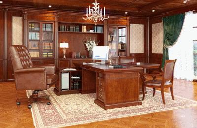 Классический кабинет из дерева: избранность, статус, престиж