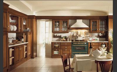 Особенности кухонной итальянской мебели