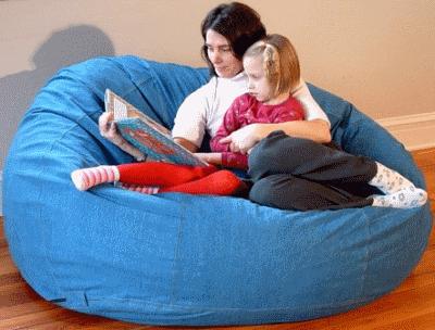 Немного о современной бескаркасной мебели и про кресло мешок