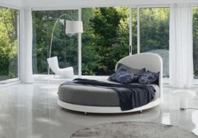 Немного о нестандартной круглой кровати
