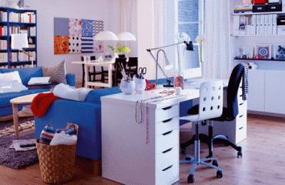 Обустраиваем рабочее место в небольшой квартире