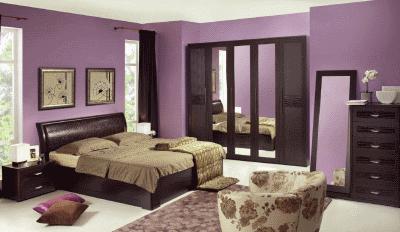 Рекомендации по выбору мебели в спальную комнату