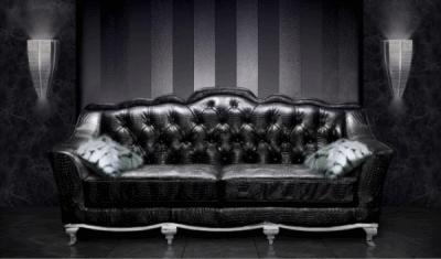 Прелесть кожаных диванов в интерьере