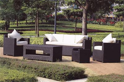 Разновидности садовой мебели