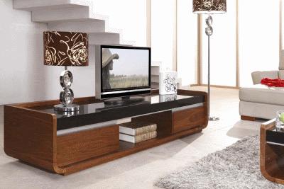 Современные тумбы под телевизор в интерьере