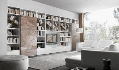 Практичные стеллажи в дизайне интерьера